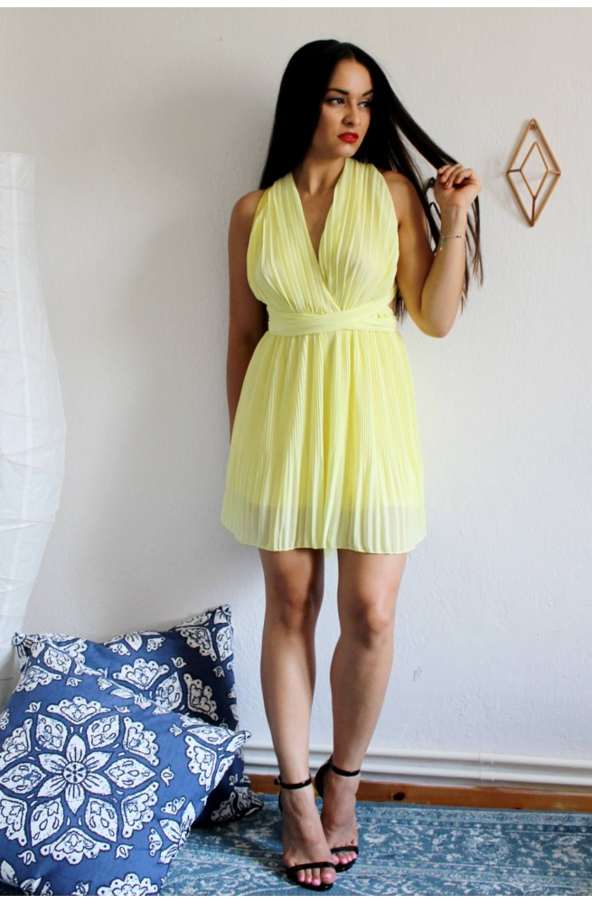 Φόρεμα Κίτρινο Πολυμορφικό