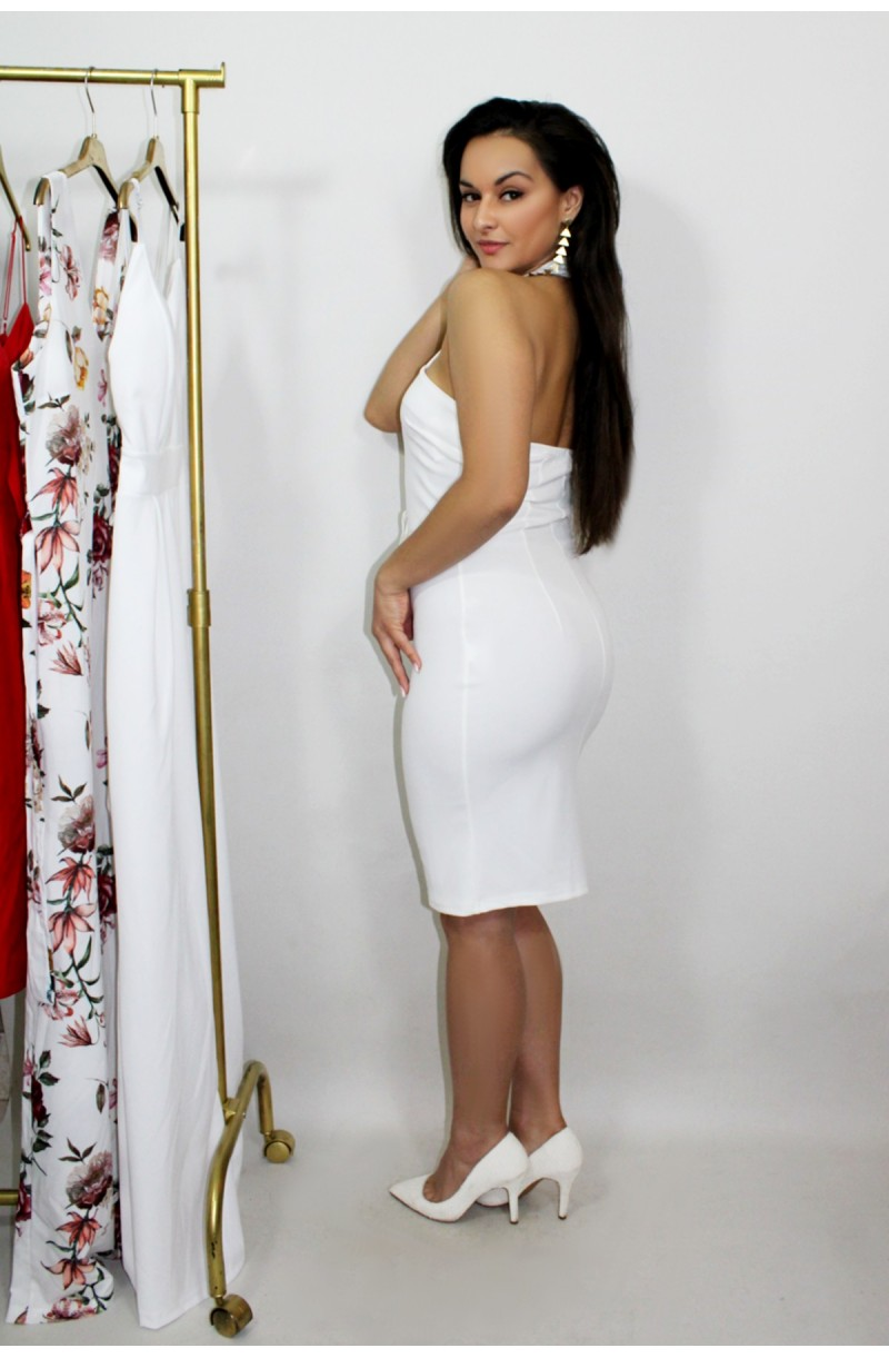 5c77ec72324d φόρεμα λευκό στενό midi · φόρεμα λευκό στενό midi ...