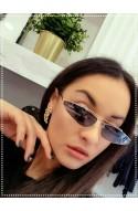 γυαλιά ηλίου μαύρο με χρυσό μακρόστενα
