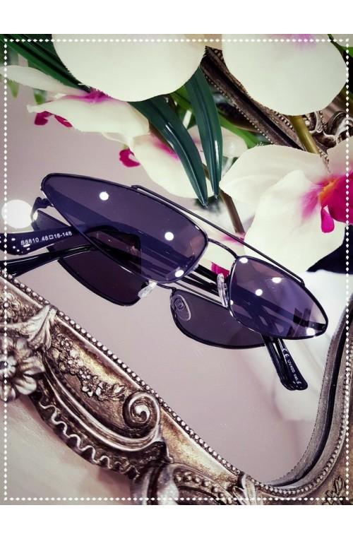 γυαλιά ηλίου μαύρο μακρόστενα