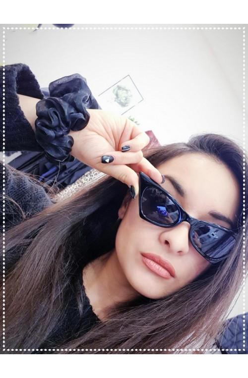 γυαλιά ηλίου μαύρα πεταλούδα