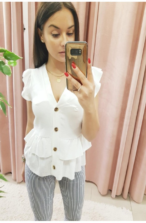 08390130be9 κρουαζέ, oversized, λευκό ή μαύρο γυναικείο πουκάμισο με δέσιμο ή ...