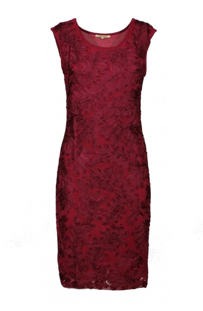 φόρεμα μίνι με κέντημα