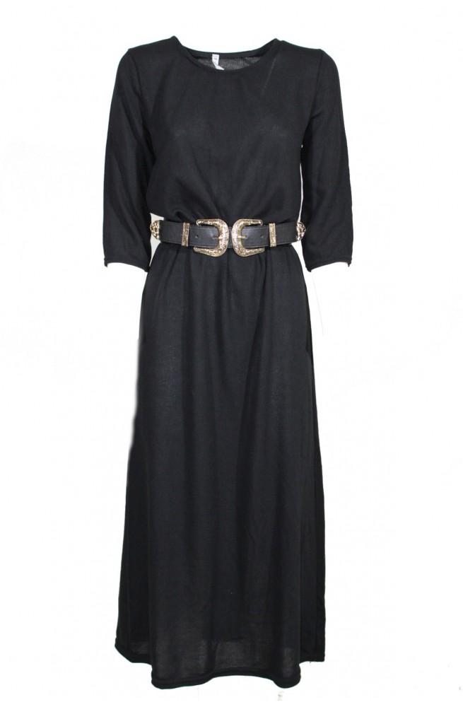 φόρεμα πλεκτό μακρύ