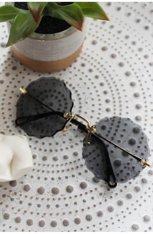 γυαλιά ηλίου στρογγυλά μεγάλα διάφανα