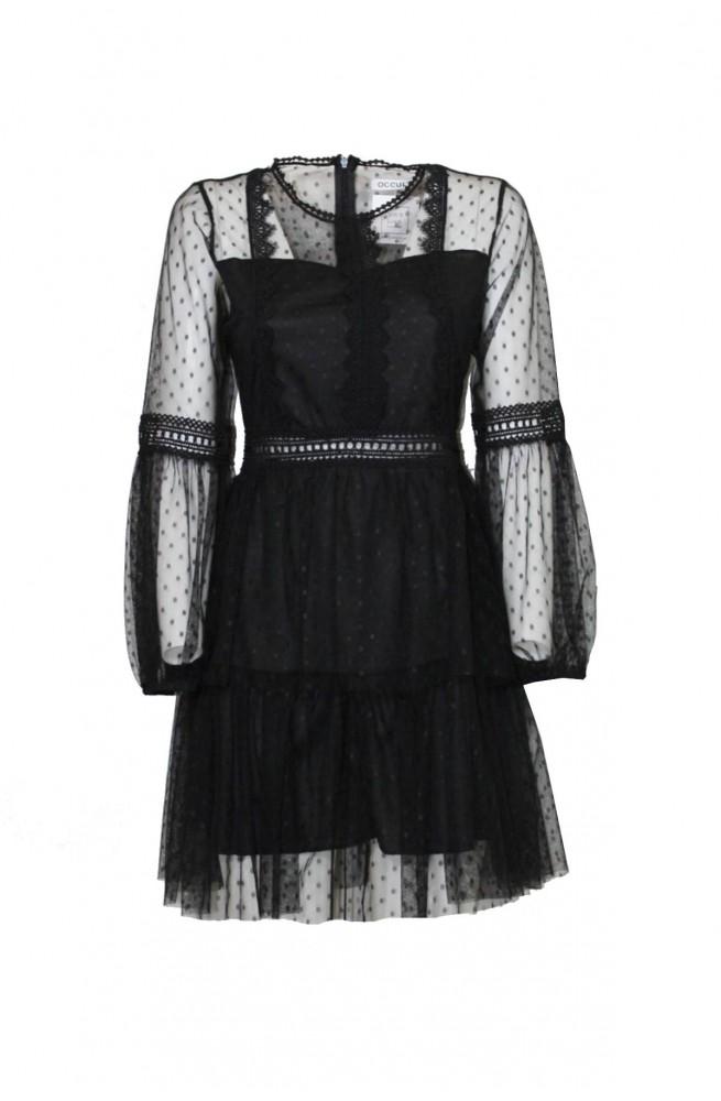 φόρεμα μίνι τούλινο