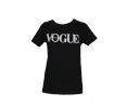 t-shirt μαύρο vogue