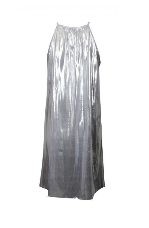 Μίνι Φόρεμα Μεταλιζέ Ασημί   Μοντέρνα και φθηνά μίνι φορέματα