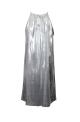 Μίνι Φόρεμα Μεταλιζέ Ασημί | Μοντέρνα και φθηνά μίνι φορέματα