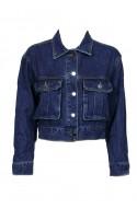 crop jean jacket