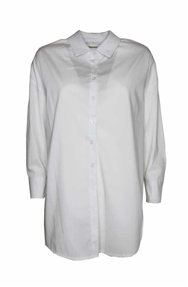 γυναικείο λευκό πουκάμισο