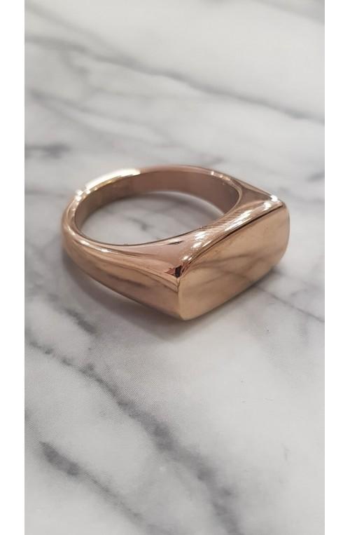 γυναικείο δαχτυλίδι από ατσάλι