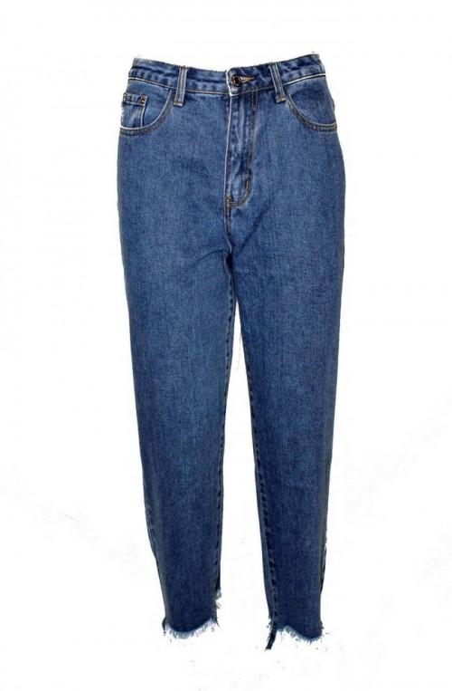 γυναικείο τζιν παντελόνι mom's fit γραμμή