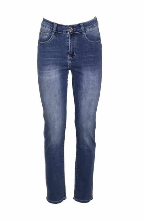 γυναικείο skinny plush size jean ψηλόμεσο