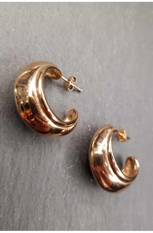 γυναικεία σκουλαρίκια κρίκοι φαρδιοί