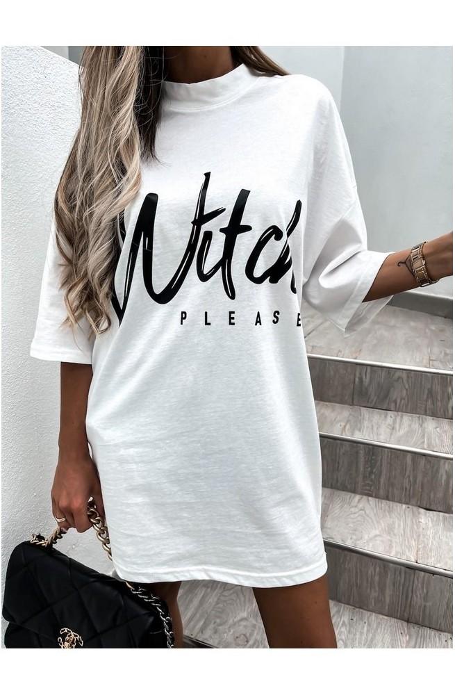 γυναικείο μπλουζάκι φόρεμα t-shirt oversized