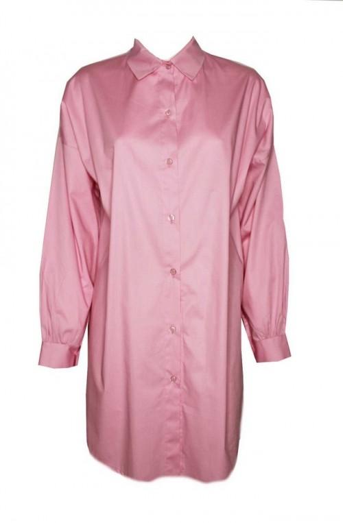 γυναικείο πουκάμισο ασύμμετρο μακρύ