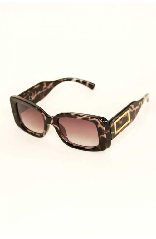 γυναικεία γυαλιά ηλίου κοκάλινα τετράγωνα