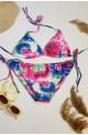 γυναικείο μαγιό μπικίνι tie dye τριγωνακι