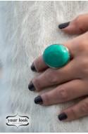 δαχτυλίδι blue stone ring