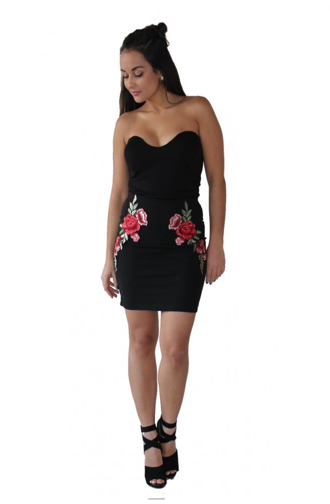 Φούστα με Λουλούδια
