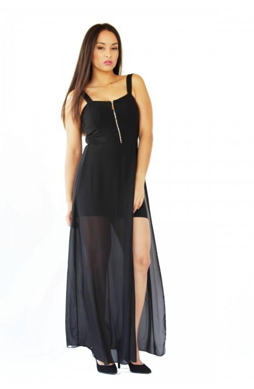 line black dress